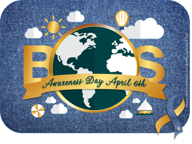BOS logo vierkant awareness with BOSribbon