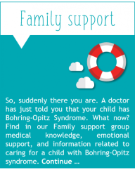 Family Support Bohring-Opitz Syndrome