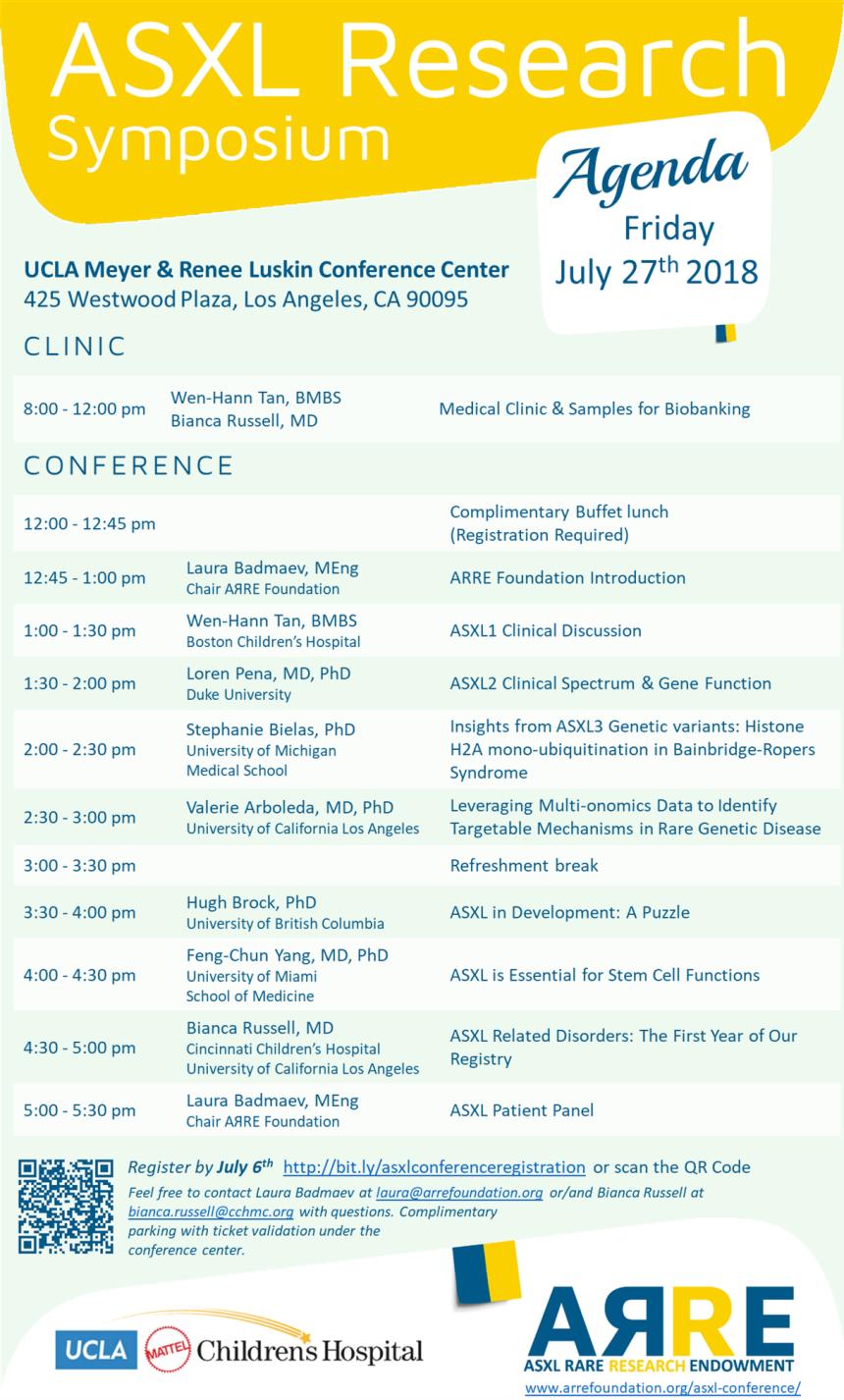 2018-6-23 ASXL Research Symposium Agena
